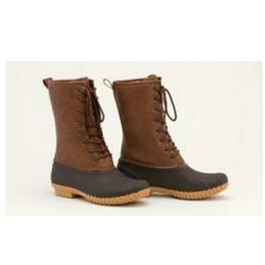 Sociology Joan  lace up weather duck boots